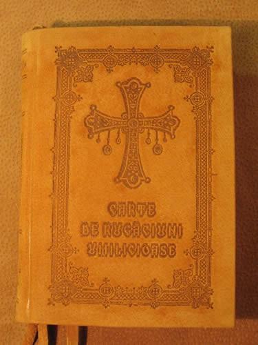 Carte de rugaciuni umilicioase cu coperti din piele categoria II-a