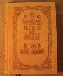 Micul Ceaslov cu coperti din piele naturala categoria II-a